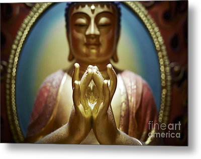 Metal Print featuring the photograph Buddha Tooth Relic Temple 4 by Dean Harte