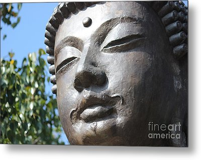 Metal Print featuring the photograph Buddha by Wilko Van de Kamp