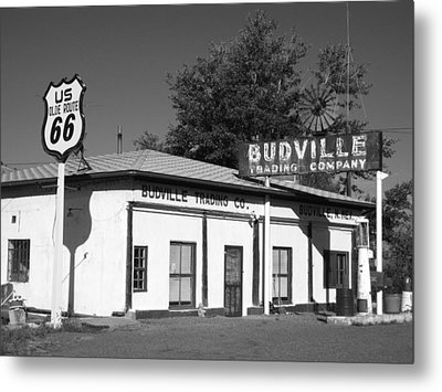 Budville Trading Co. Metal Print by Eric Foltz