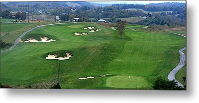 Buena Vista Golf Course Metal Print