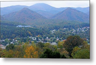Buena Vista In The Fall Metal Print