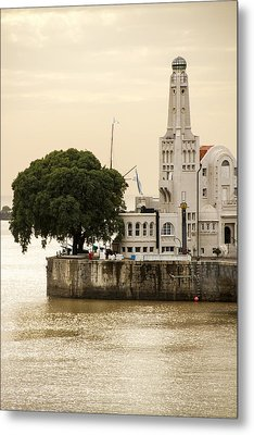 Buenos Aires Lighthouse Metal Print