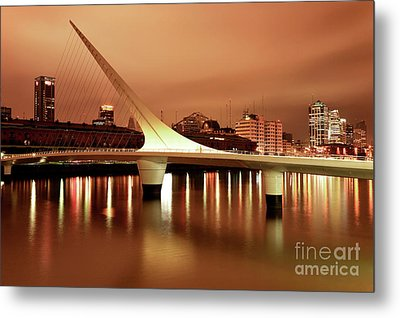 Buenos Aires On Fire Metal Print