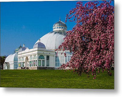 Metal Print featuring the photograph Buffalo Botanical Gardens North Lawns by Don Nieman