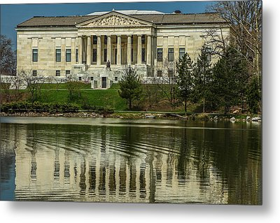 Metal Print featuring the photograph Buffalo Historical Society And Library by Don Nieman