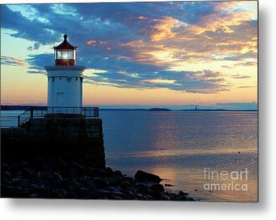 Bug Light, Portland Maine Metal Print