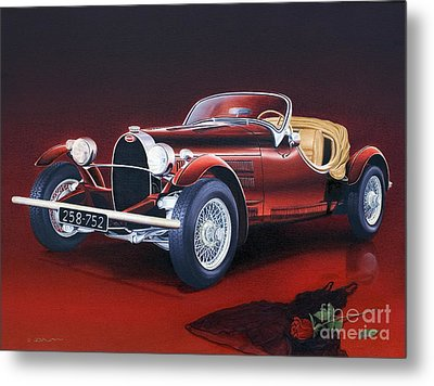 Bugatti. Italian Exotic Car Metal Print