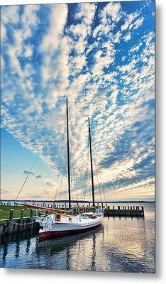 Bugeye - Chesapeake Maritime Museum Metal Print