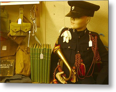 Bugle Boy 2 Metal Print by Jez C Self