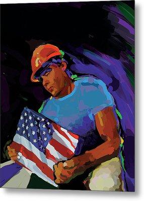Building America Metal Print by Brad Burns