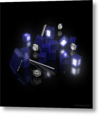 Building Blocks Of Space Time Travel Metal Print