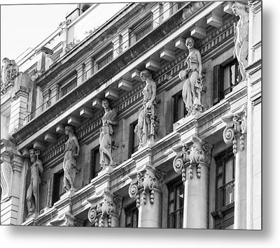 Metal Print featuring the photograph Building by Silvia Bruno