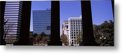 Buildings Viewed From South Carolina Metal Print by Panoramic Images