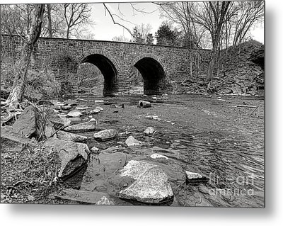 Bull Run Bridge Metal Print by Olivier Le Queinec