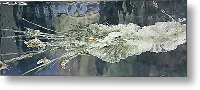 Bullet Fragmentation Abstract Metal Print by Kristin Elmquist