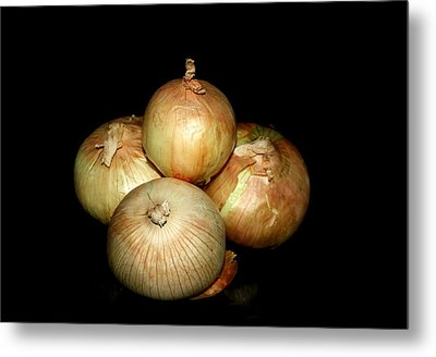 Bunch Of Onions Metal Print