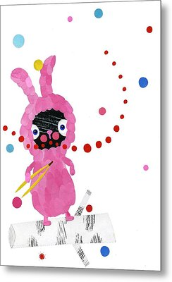 Bunny Metal Print by Anne Vasko