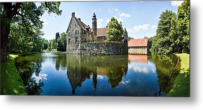 Burg Vischering Metal Print