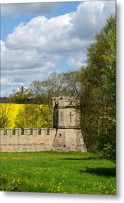 Burghley House Fortifications Metal Print