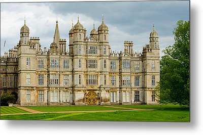 Burghley House Metal Print