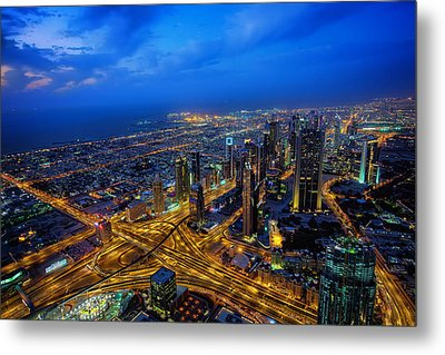 Burj Khalifa View Metal Print by Ian Good