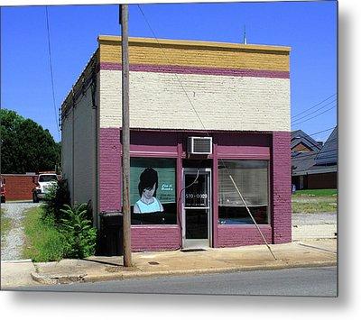 Burlington North Carolina - Small Town Business Metal Print by Frank Romeo