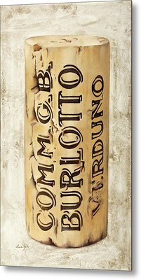 Burlotto Metal Print by Danka Weitzen