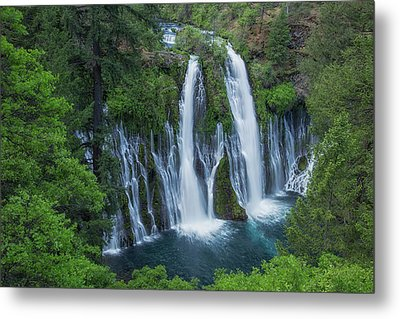 Metal Print featuring the photograph Burney Creek Falls by Patricia Davidson