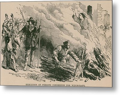 Burning At The Stake, One Of The Most Metal Print by Everett