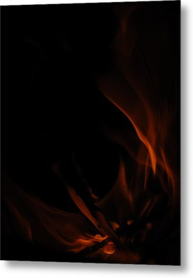 Burning Desire Metal Print by Kimberly Camacho