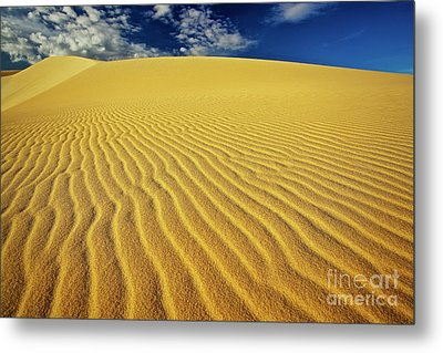 Burning Up At The White Sand Dunes - Mui Ne, Vietnam, Southeast Asia Metal Print