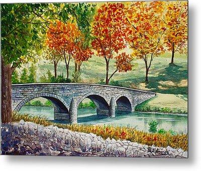 Burnside Bridge, Battle Of Antietam Metal Print by Raymond Edmonds