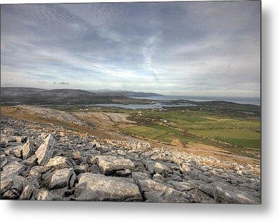 Burren Scenery  Metal Print by John Quinn