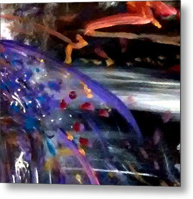 Burst Of Color Metal Print by Michelle Audas
