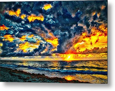 Bursting Forth Metal Print by Dennis Baswell
