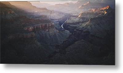 Bury Me At The Heart Of The River Metal Print