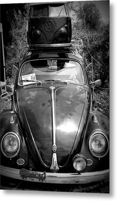 Bus On Bug Metal Print