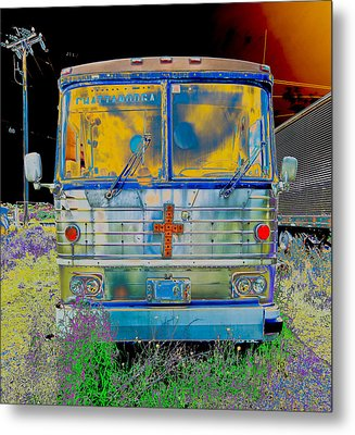 Bus To Chattanooga Metal Print by Julie Niemela