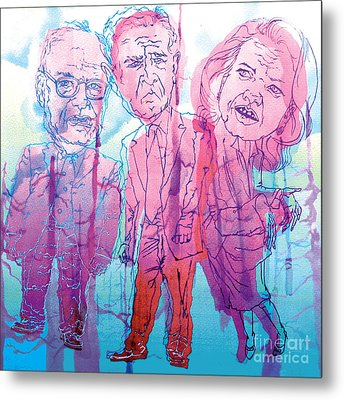 Bush Administration 2008 Metal Print by Danielle Criswell