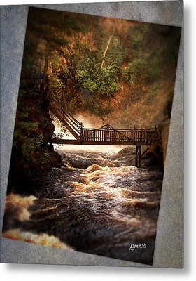Metal Print featuring the photograph Bushkill Falls by Phil Mancuso