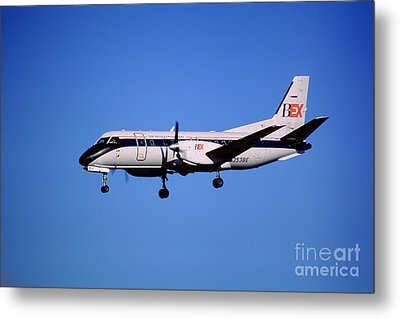 Business Express, Delta Connection, N353be, Bex Saab 340b Metal Print