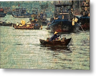 Busy Hoi Ahn Dawn Metal Print