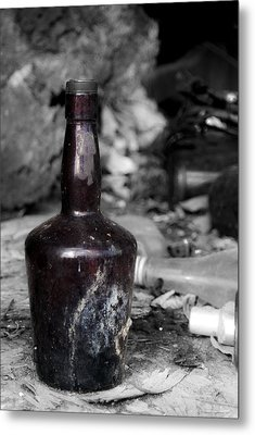 But Where's The Rum? Metal Print