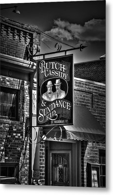 Butch Cassidy And The Sundance Kid Metal Print