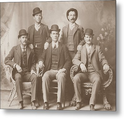 Butch Cassidy - Sundance Kid - Wild Bunch  Metal Print