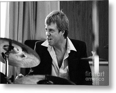 Butch Miles, Jazz Drummer Metal Print by The Harrington Collection