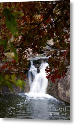 Butcher Falls In Autumn Colors Metal Print