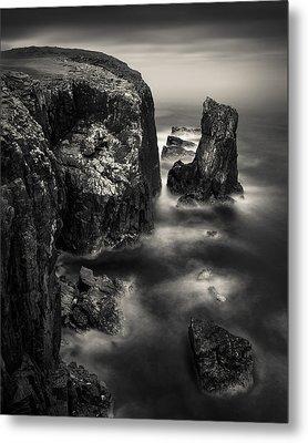 Butt Of Lewis Cliffs Metal Print