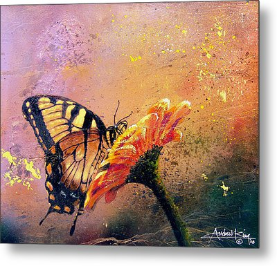 Butterfly Metal Print by Andrew King