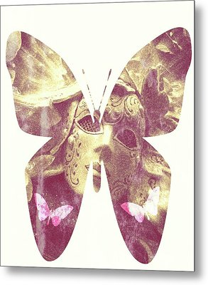 Butterfly Angel Metal Print